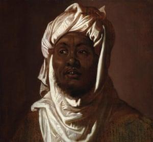 Rubens' Head of an African Man Wearing a Turban