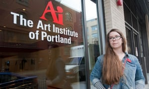 Sara Brassfield, formerly a student at the Art Institute of Portland.