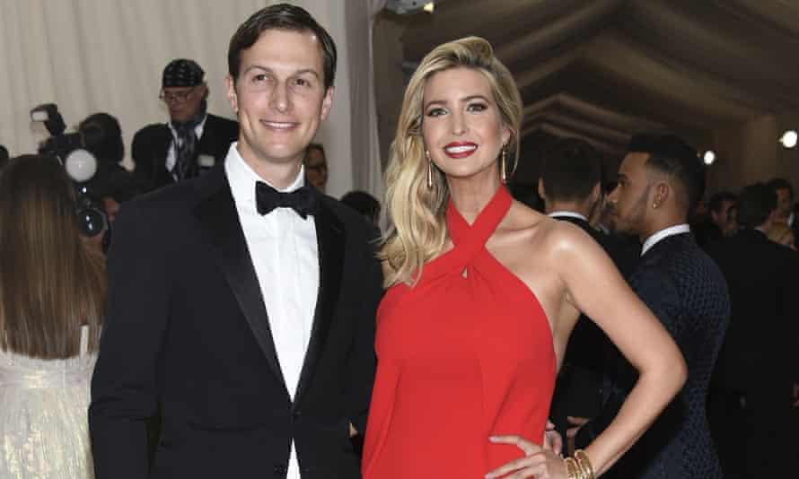 Jared Kushner and Ivanka Trump at The Metropolitan Museum of Art Costume Institute Benefit Gala, 2016