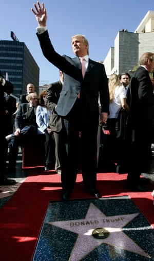 Donald Trump in 2007.