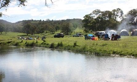 Camping at Old Bara
