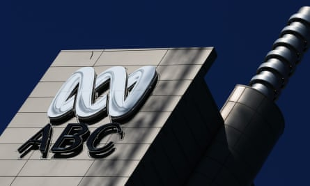 An ABC sign outside its Ultimo headquarters