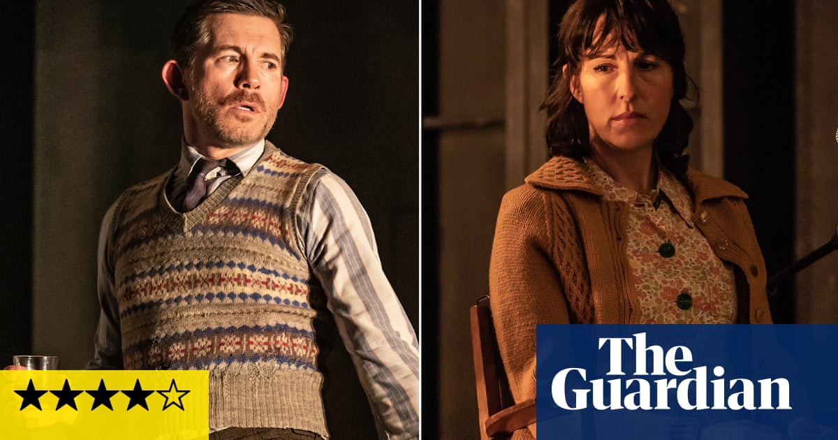 Pinter Three And Four Review Terror From Tamsin Greig A Hilarious Lee Evans