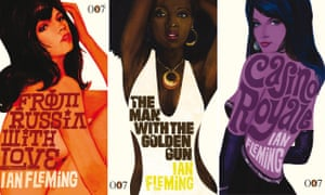 Michael Gillette's Bond Girl book covers