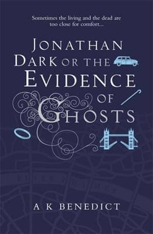 Jacket for Jonathan Dark of the Evidence Of Ghosts
