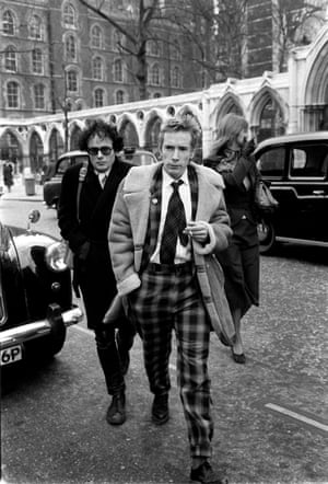 Lydon attends court on drug charges in 1979.