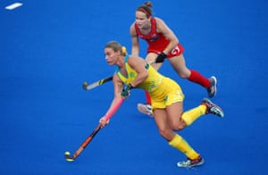 Australia v USA, Hockey