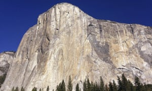 El Capitan in Yosemite National Park. National Geographic documented Alex Honnold's historic ascent on June 3, 2017.