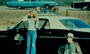 On the road: Goldie Hawn and Michael Sacks.