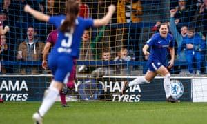 Chelsea's Fran Kirby celebrates.