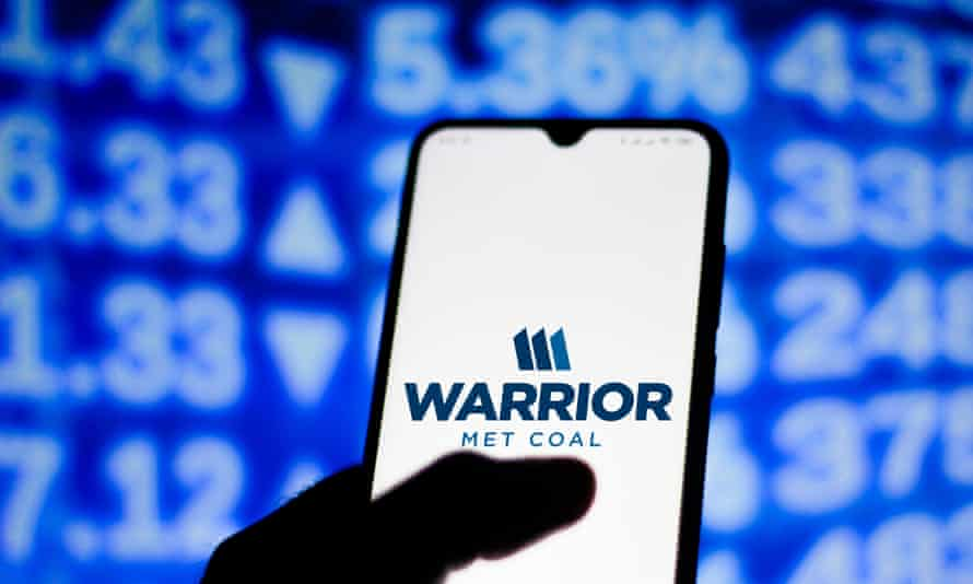 Workers at Warrior Met Coal's mine in Brookwood, Alabama, have been on strike since the start of April.