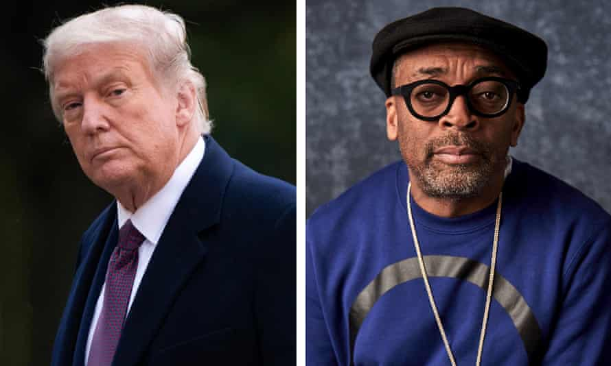 Donald Trump and Spike Lee.
