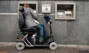 Disability reforms are hitting some of Britain's most disadvantaged people.