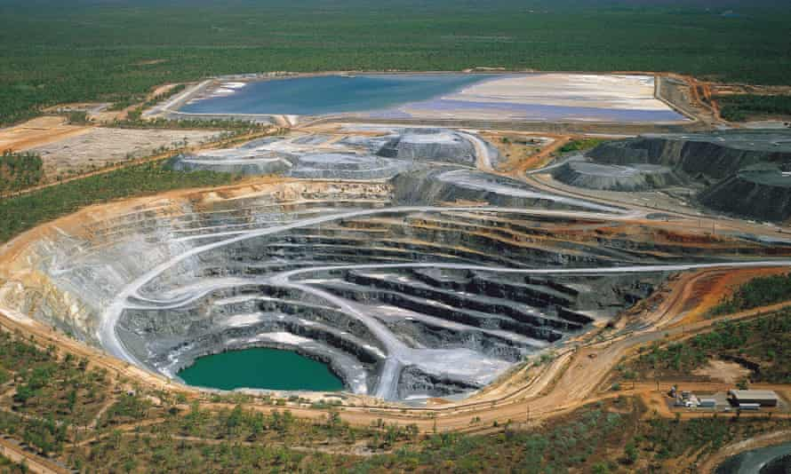 The Ranger uranium mine in the Northern Territory.