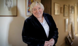 'We're having an upheaval' … Fay Weldon at home in Dorset.