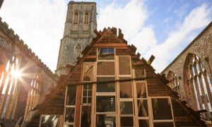 Theaster Gates' Sanctum is a fully salvaged structure that's warm and welcoming