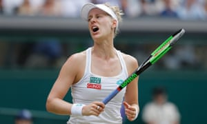 Alison Riske proved a troublesome opponent for Serena Williams, taking the seven-time champion into three sets.