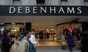 Debenhams, Oxford Street, London