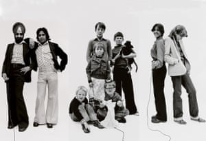 Handsworth self-portraits, left to right: Raj and friend, Esther and friends and Barbara with friend, all 1979