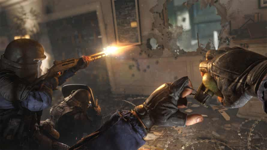 Rainbow Six Siege, whose developer, Ubisoft, implemented temporary suspensions for players detected using offensive slurs.