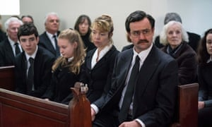 Anna Maxwell Martin and Daniel Mays as Wendy and Colin Parry in Mother's Day.
