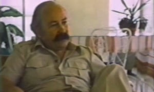 Frank Terpil in the 1982 documentary 'Confessions of a Dangerous Man'