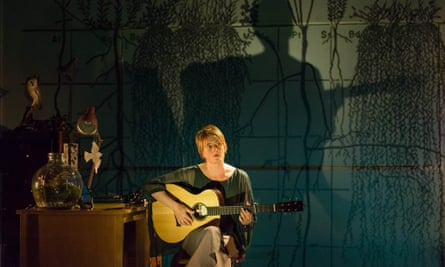 'A hymn to the gentle Midlothian landscape'... Karine Polwart in Wind Resistance at the Edinburgh's Lyceum theatre.
