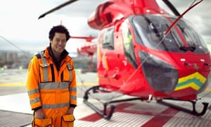 Kevin Fong flies with the Helicopter Emergency Medical Service.