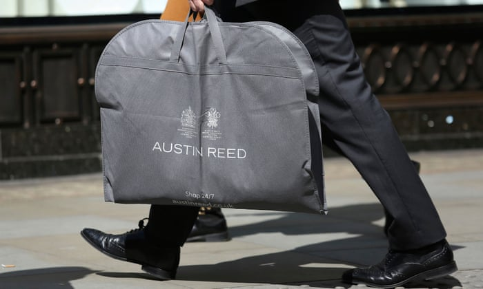 Upmarket Tailor Austin Reed On Radar Of Dragons Den Star Retail Industry The Guardian