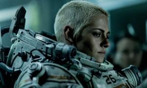 Channelling Ellen Ripley ... Kristen Stewart in Underwater.