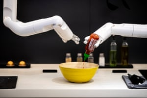 The Samsung intelligent robot 'Bot Chef'