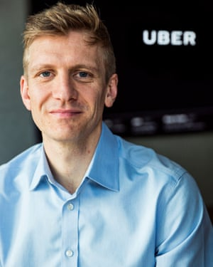 Tom Elvidge, Uber London's 34-year-old general manager and Goldman Sachs alumnus.