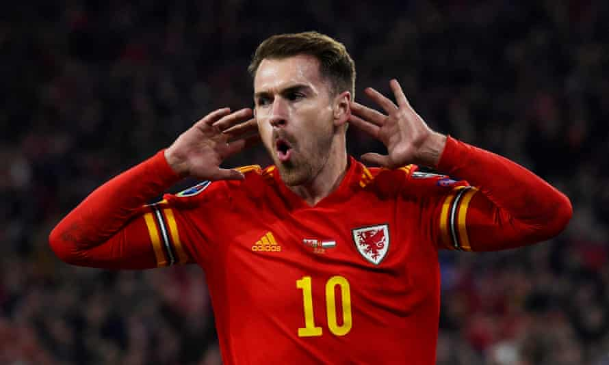 Aaron Ramsey has started only two of Wales's past 21 matches.