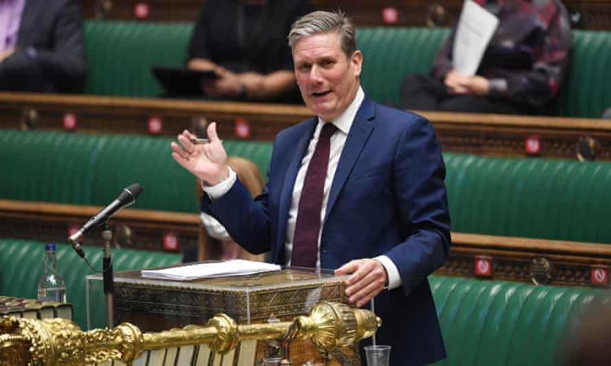 Keir Starmer 'has alienated Labour members and shied away from big political ideas'.