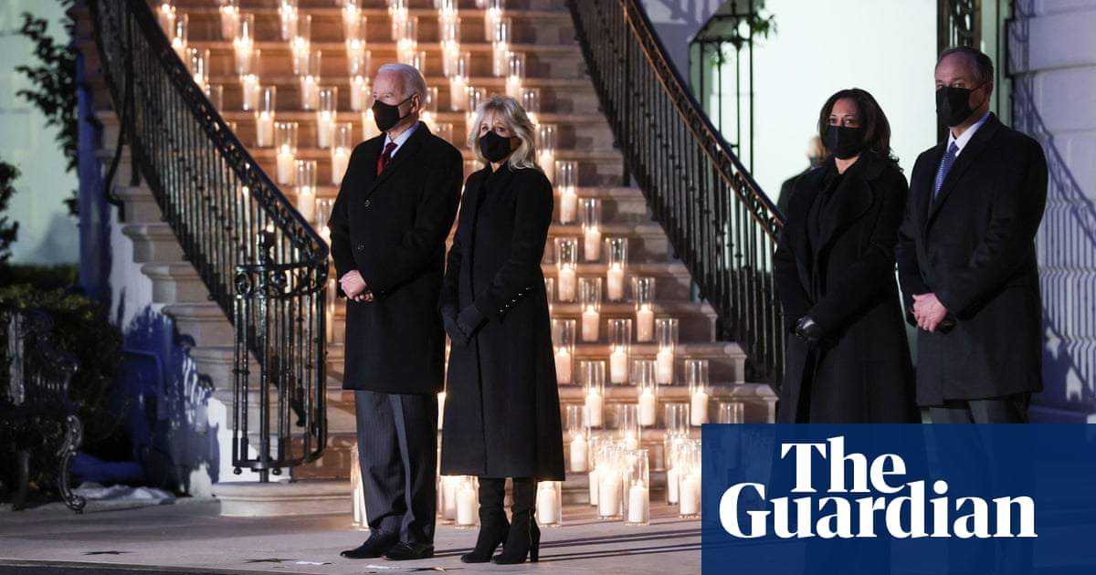 Biden on reaching 500,000 US Covid deaths: 'We must not become numb to the sorrow' - The Guardian
