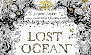 Johanna Basfords Lost Ocean Adult Colouring Book Was One Of The Printed Hits Last