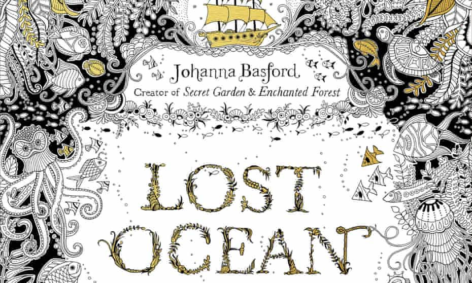 Johanna Basford's Lost Ocean adult colouring book was one of the printed book hits of last year.