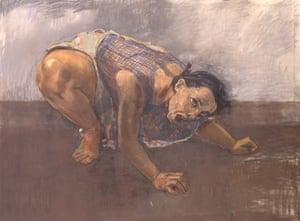 Dog Woman, 1994, again modelled by Nunes.