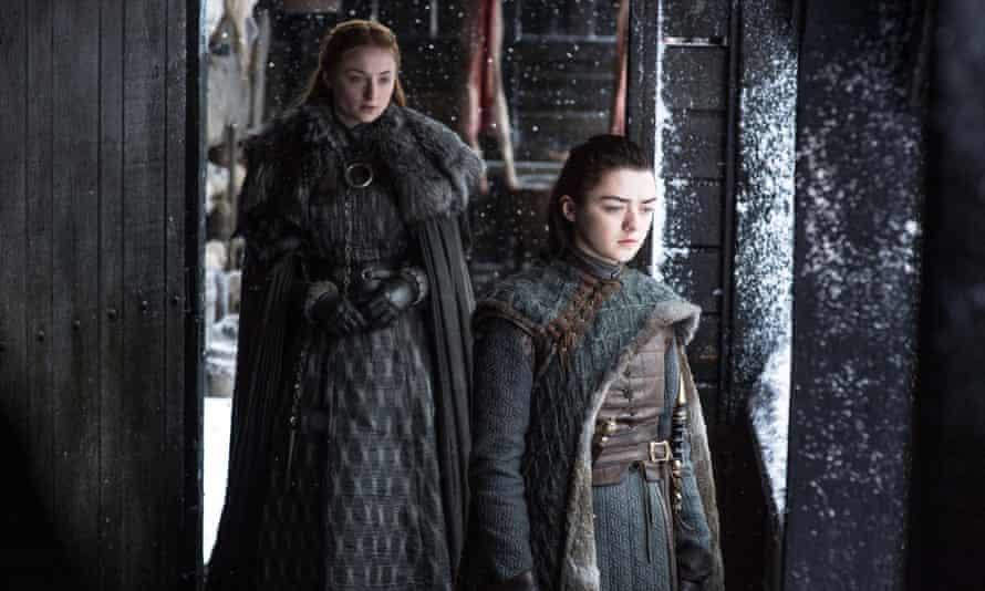 Are Sansa and Arya really plotting to kill each other?