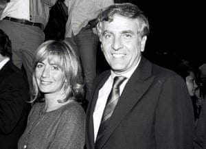 Garry Marshall with his sister, the director Penny Marshall, at the 1986 premiere of Color of Money.