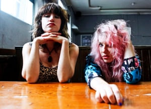 Deap Vally … scuzzy blues-rock for a Fluffer pit party