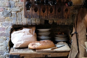 Bread and wine ... the essentials are covered. For a Neapolitan dinner in aid of the charity Worldreader, inspired by the novels of Elena Ferrante.