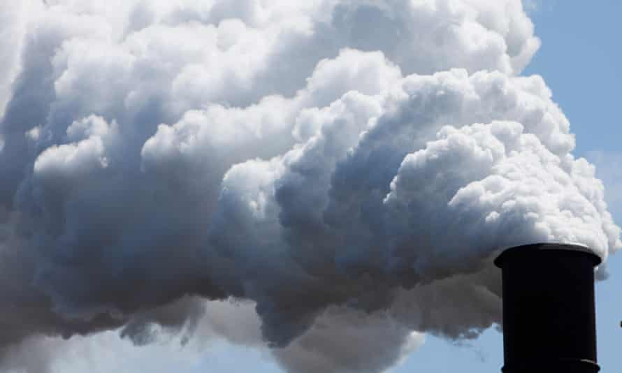 Emissions from steel works