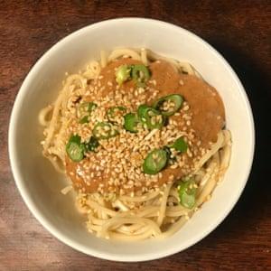 New York Times 'dan dan noodles.