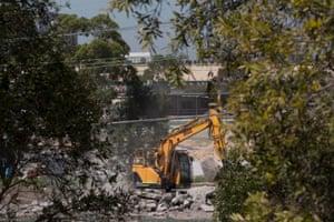 WestConnex demolition