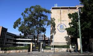Waverley college in Sydney's eastern suburbs