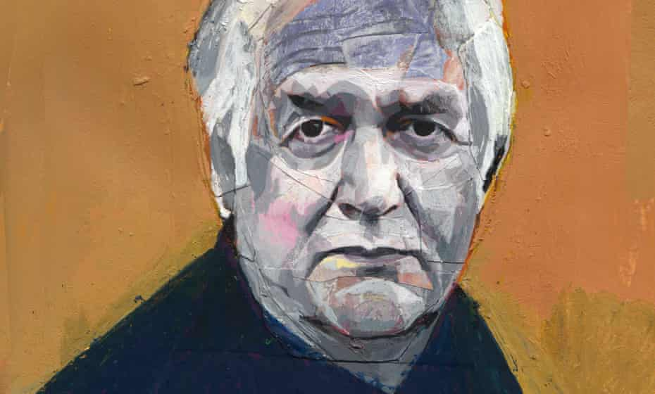 Henning Mankell: Illustration by Andrea Ventura for Review