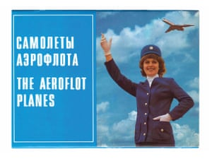 The airline issued postcards in the 80s, depicting planes from the fleet