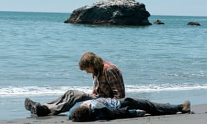 Between a rock and a hard place … Dano and Radcliffe in Swiss Army Man