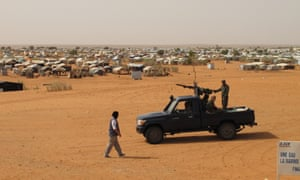 Mbera refugee camp in Mauritania is struggling to cope with an influx of Malian refugees.